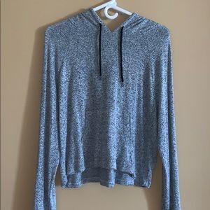Loose, flowy hoodie from Target , size Medium